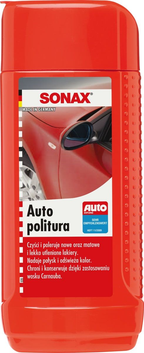 MLECZKO AUTO POLITURA    SONAX 250ML BUT